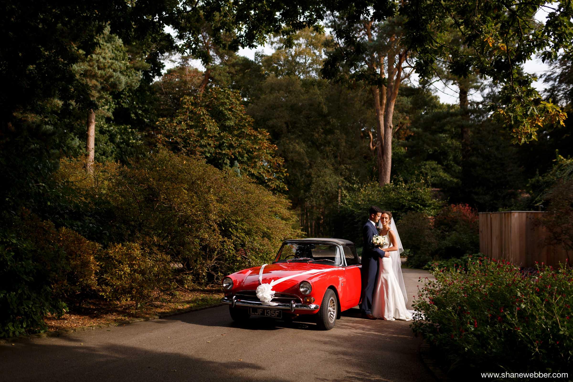 Summer wedding photography at Abbeywood Estate