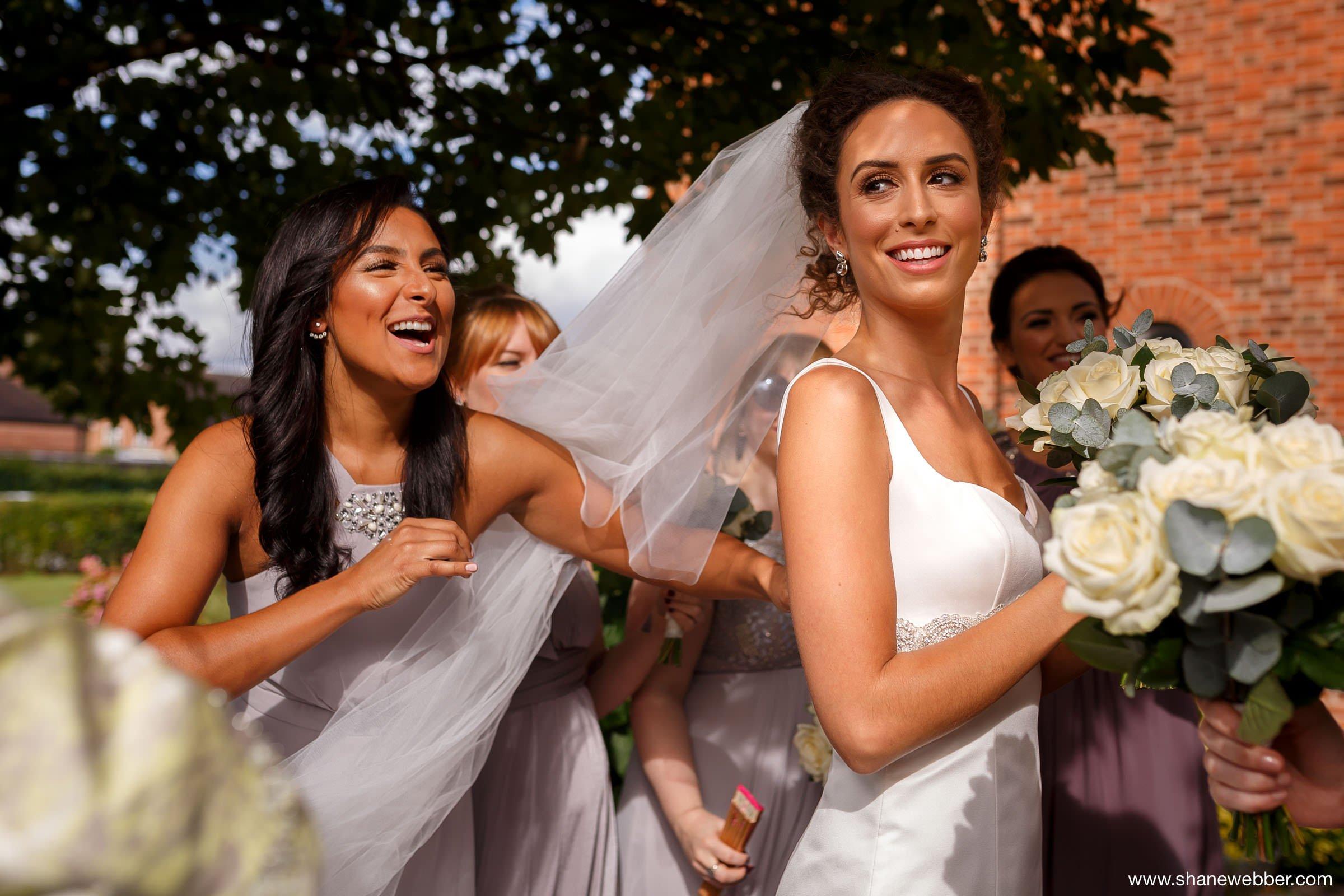 Wedding at Saint Bede's Catholic Church