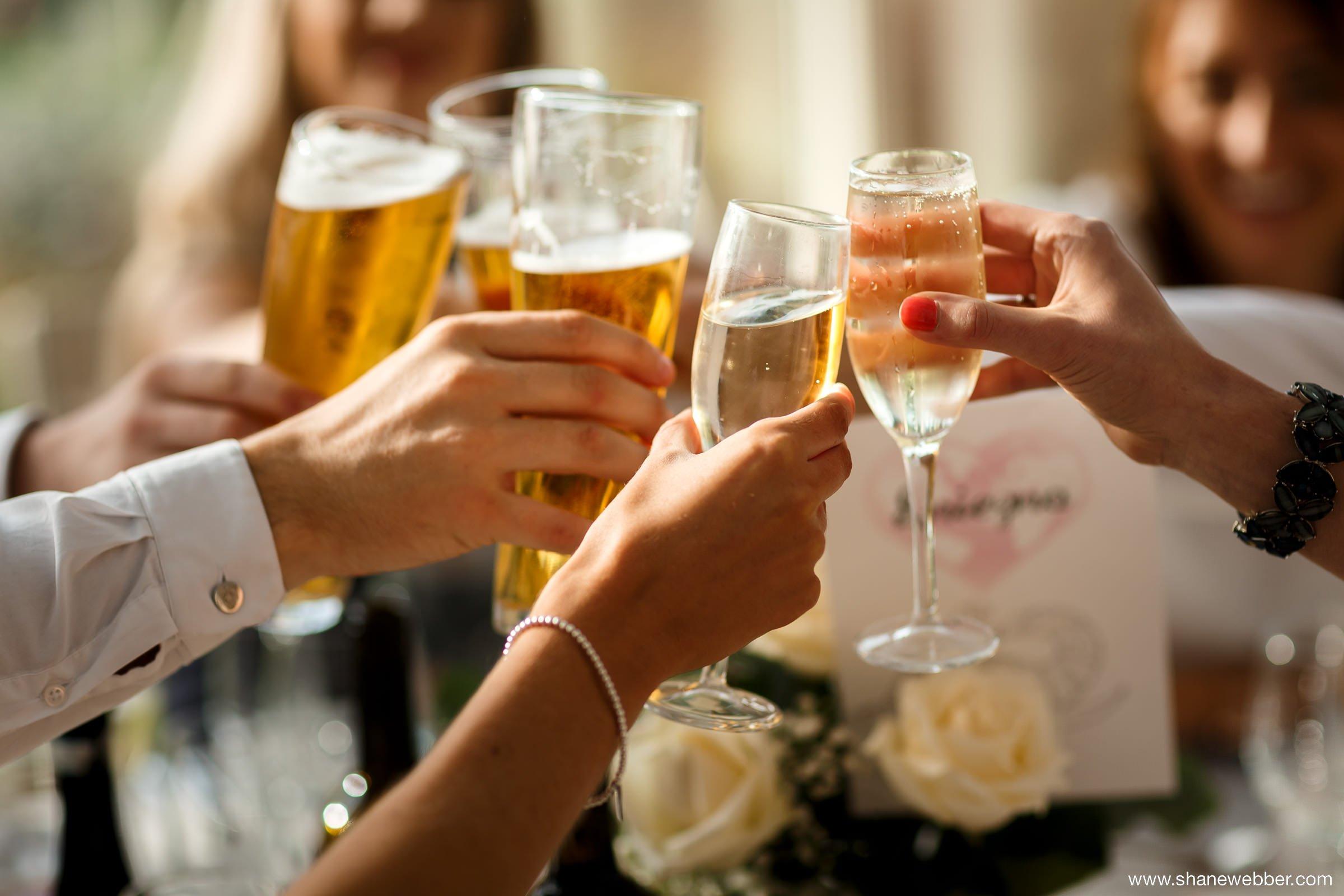 Guests celebrating