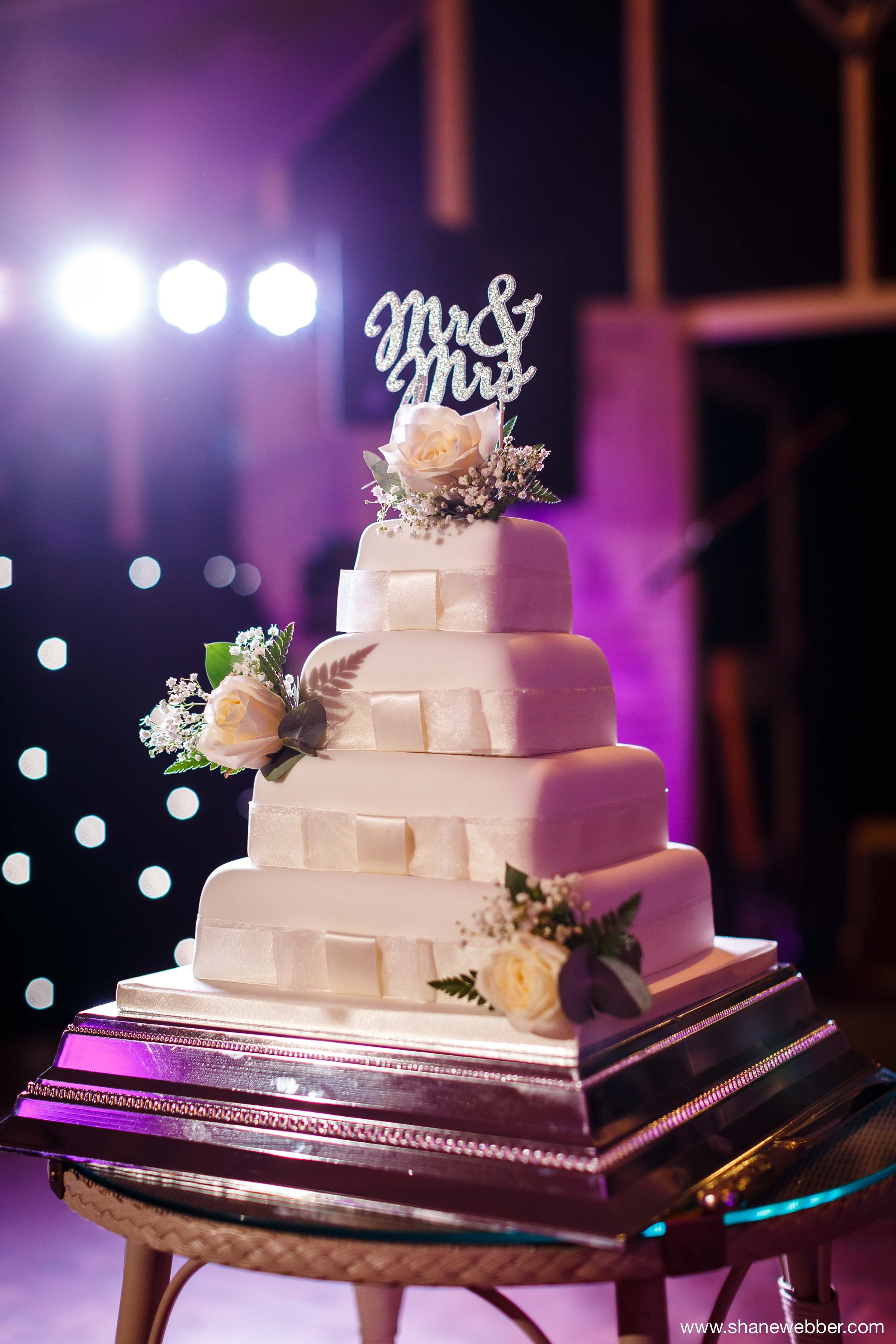 Marks and Spencer wedding cake