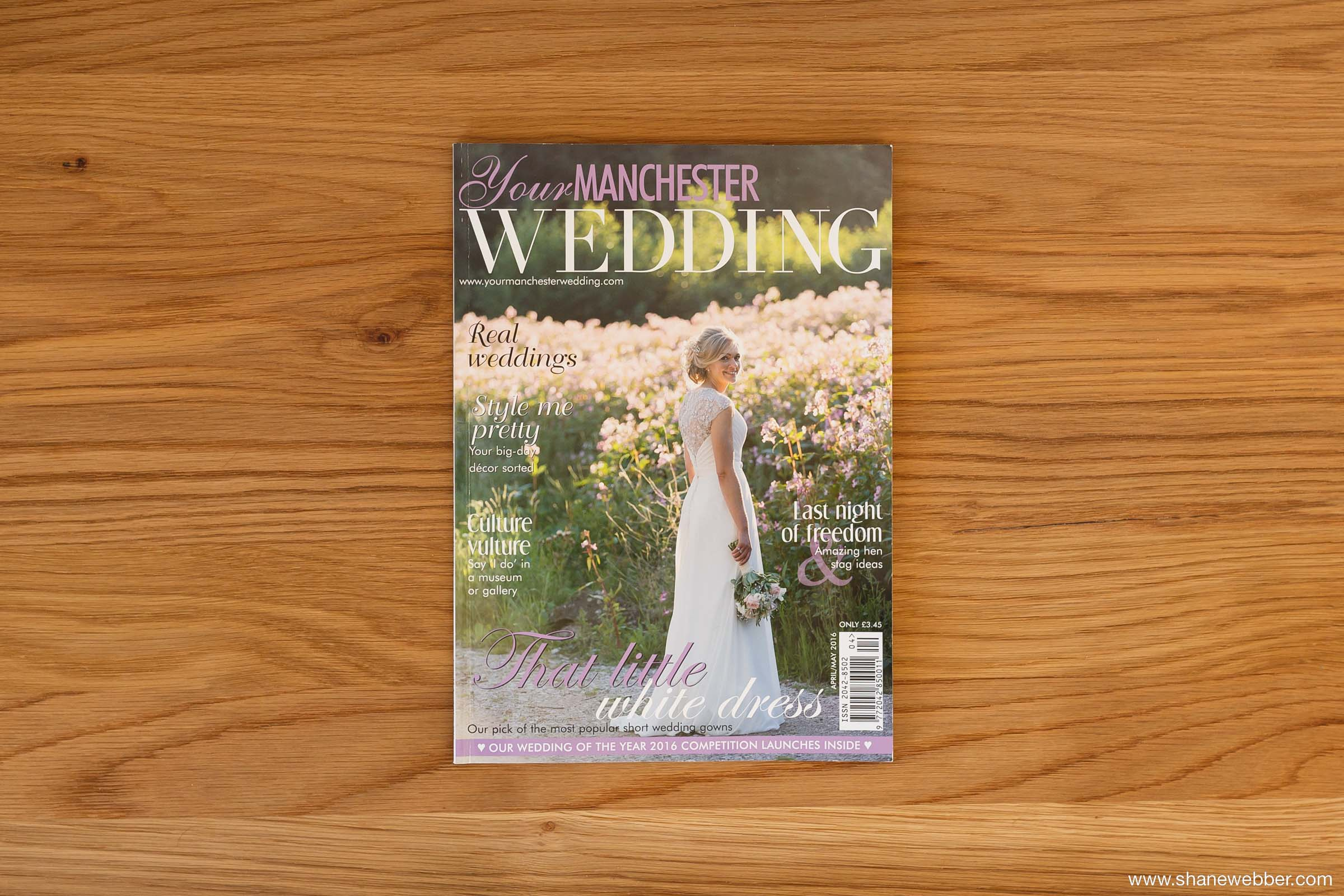 Your Manchester Wedding Magazine April 2016 Front Cover