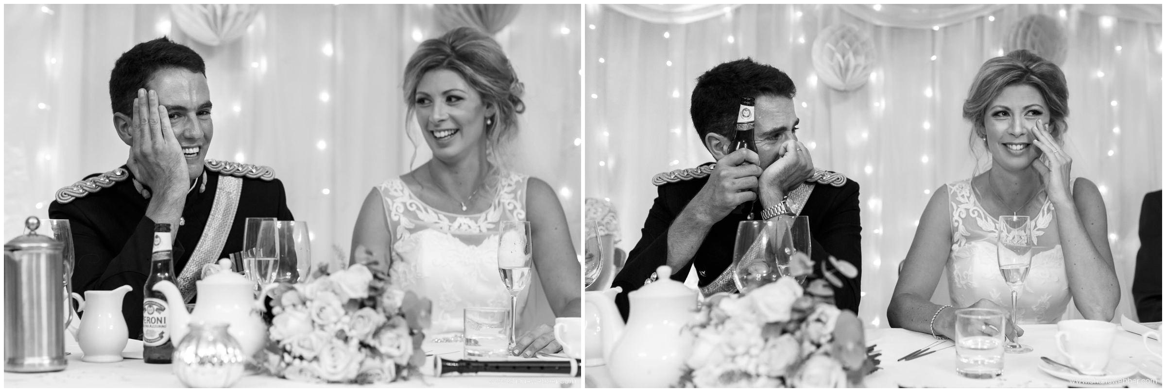 Embarrassed groom